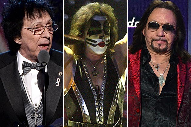Peter Criss Eric Singer Ace Frehley