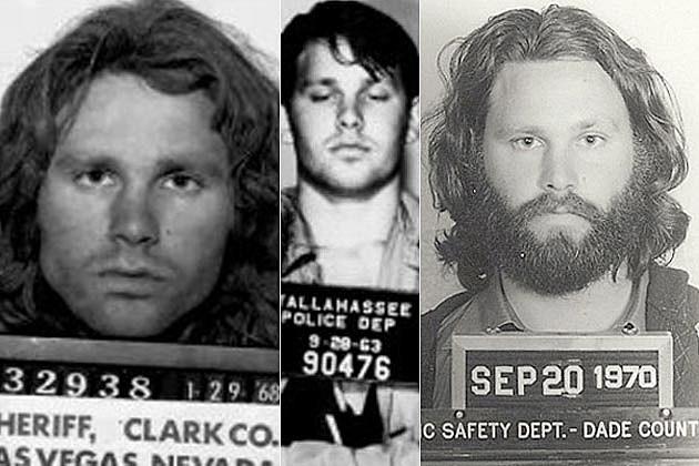 Jim Morrison Arrest History