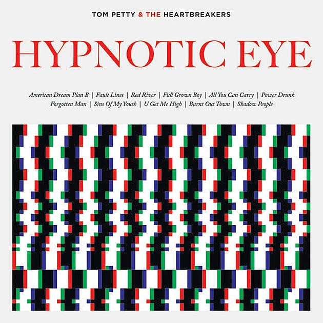 Tom Petty Hypnotic Eye Art
