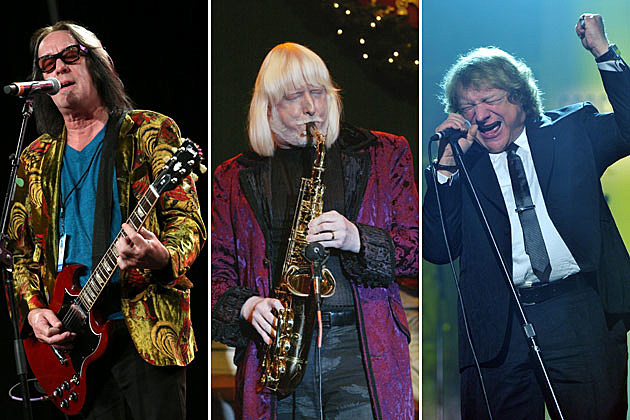 Todd Rundgren, Edgar Winter, and Lou Gramm
