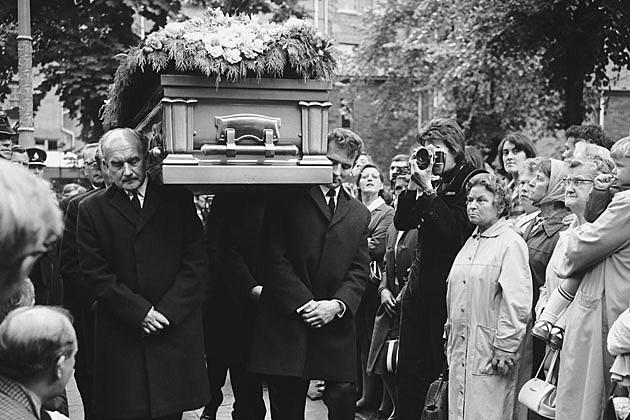 Brian Jones' Funeral