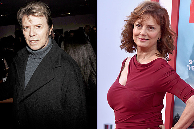 David Bowie Susan Sarandon