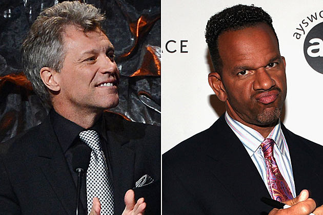 Jon Bon Jovi and Andre Reed