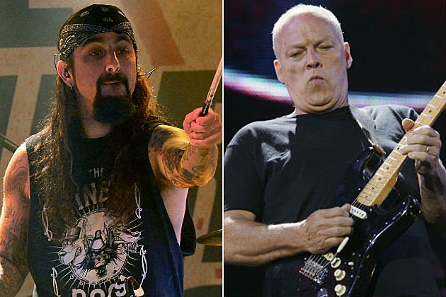 Mike Portnoy and David Gilmour