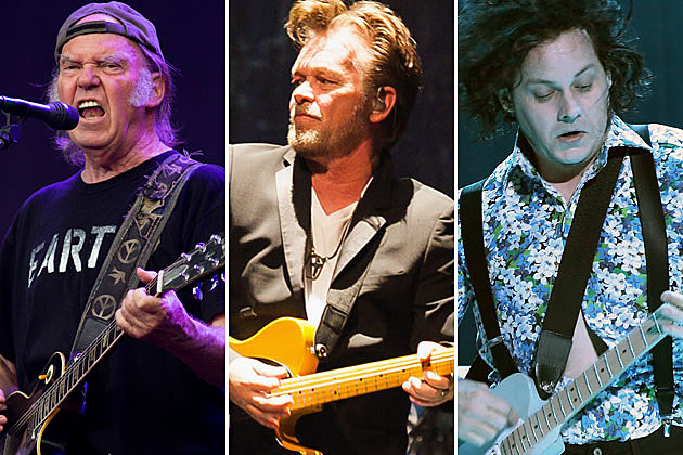 Neil Young, John Mellencamp, Jack White