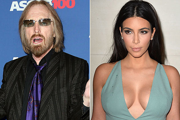 Tom Petty and Kim Kardashian