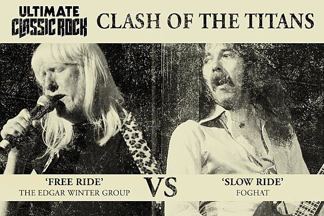Foghat Vs. Edgar Winter