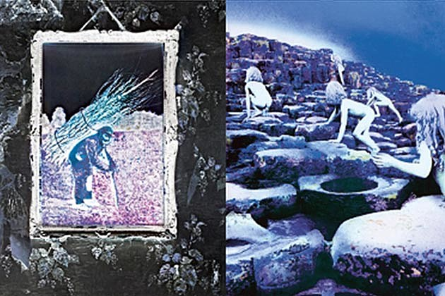 Led Zeppelin IV Houses of the Holy
