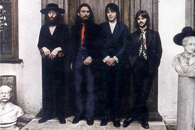Beatles John Lennon George Harrison Paul McCartney Ringo Starr