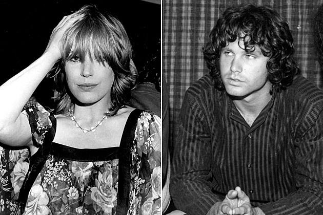 Marianne Faithfull Jim Morrison