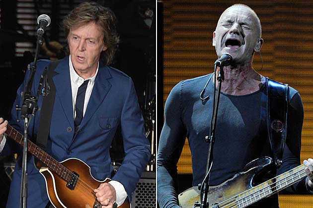 Paul McCartney Sting