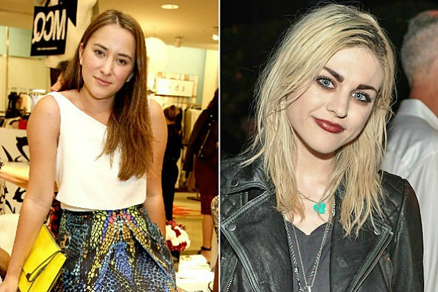 Zelda Williams and Frances Bean Cobain