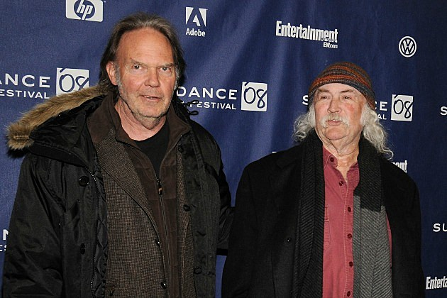 Neil Young and David Crosby