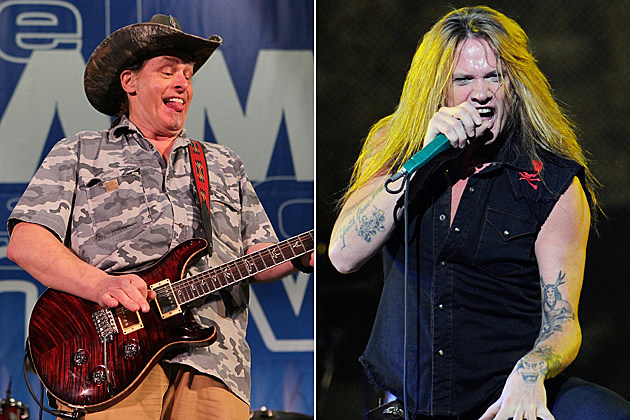 Ted Nugent Sebastian Bach