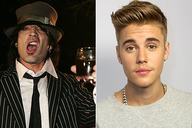 Tommy Lee and Justin Bieber