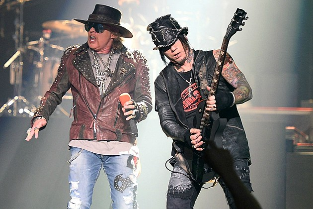 Axl Rose and DJ Ashba