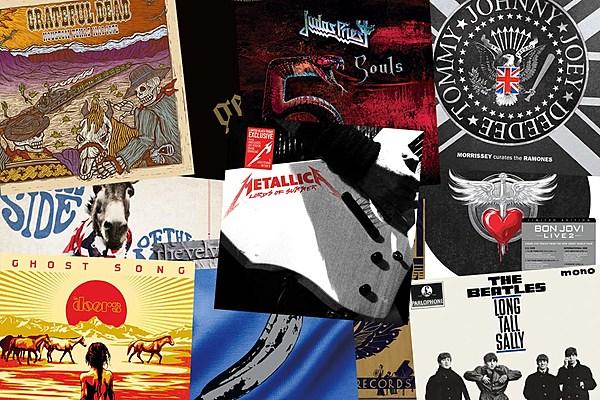 Beatles Judas Priest Announce New Vinyl 2014 Record