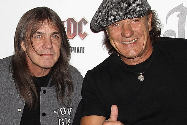 Malcolm Young Brian Johnson