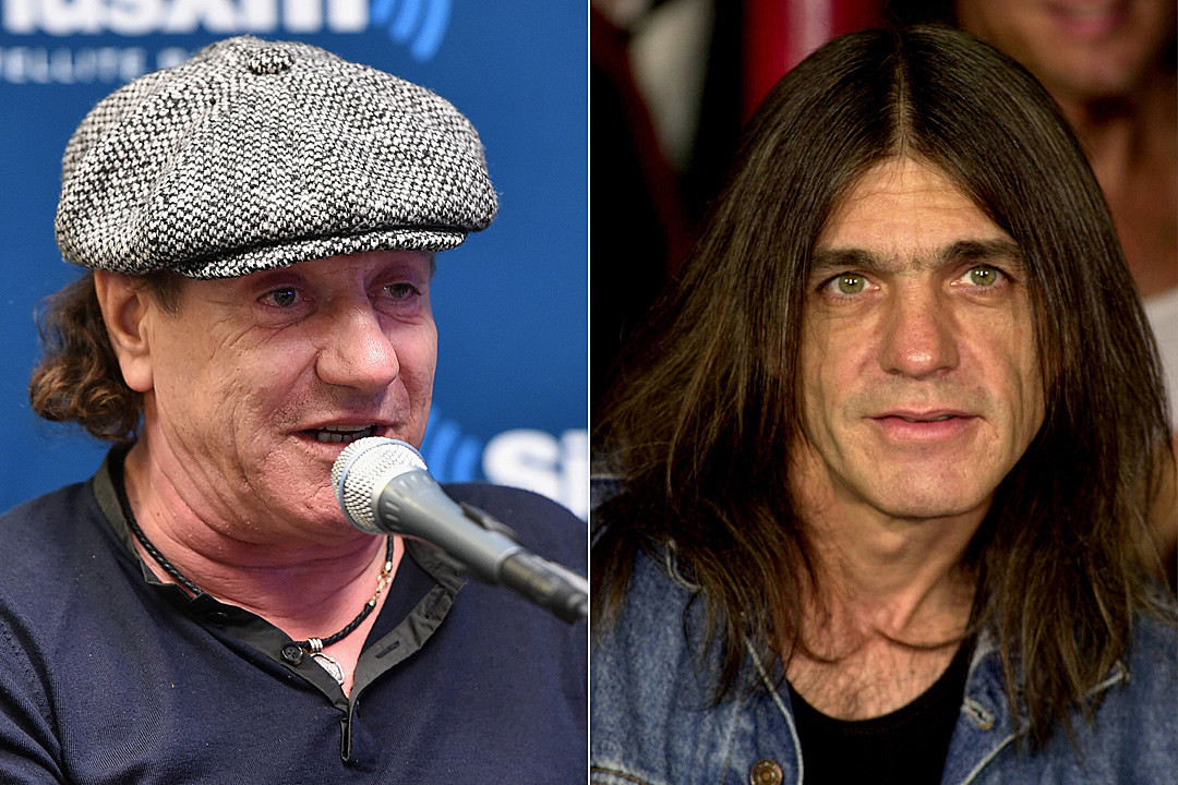 Brian Johnson Malcolm Young