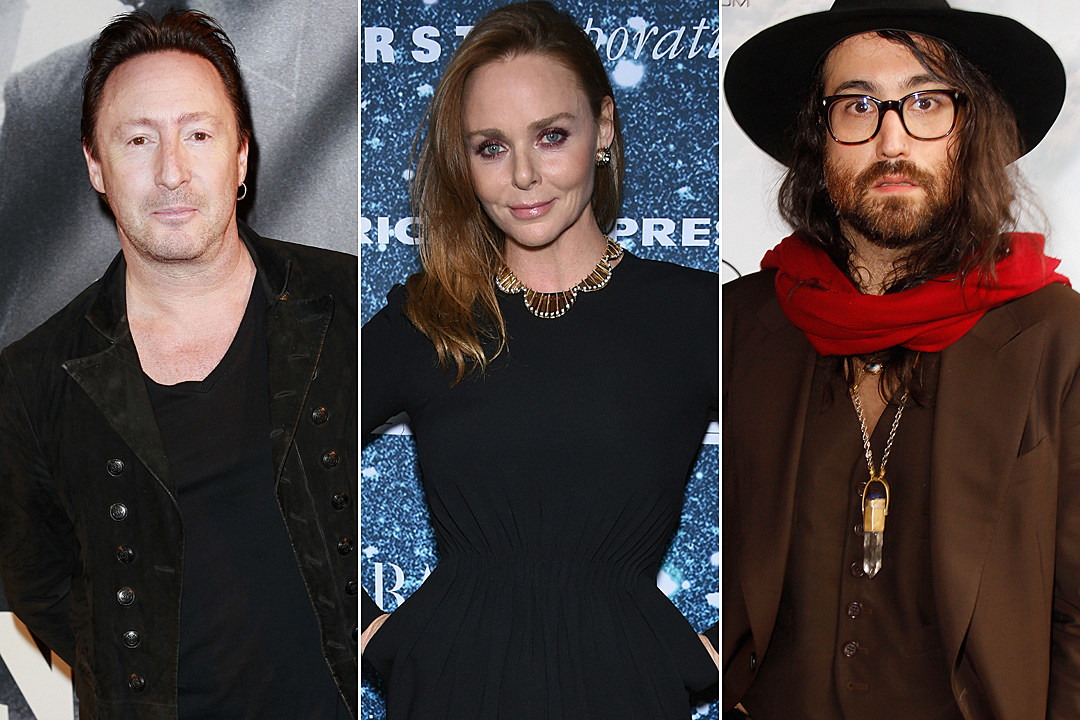 Julian Lennon Stella McCartney Sean Lennon