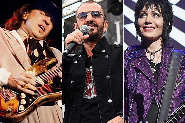 Stevie Ray Vaughan Ringo Starr Joan Jett