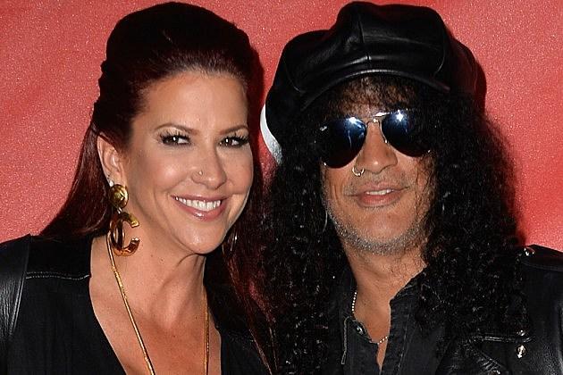 Slash's Wife -- No Bad Blood in Divorce ... Not Yet, Anyway   TMZ.com