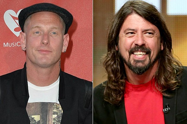 Corey Taylor Dave Grohl