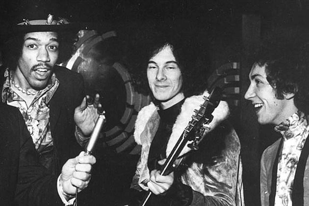 Eric Clapton Jimi Hendrix