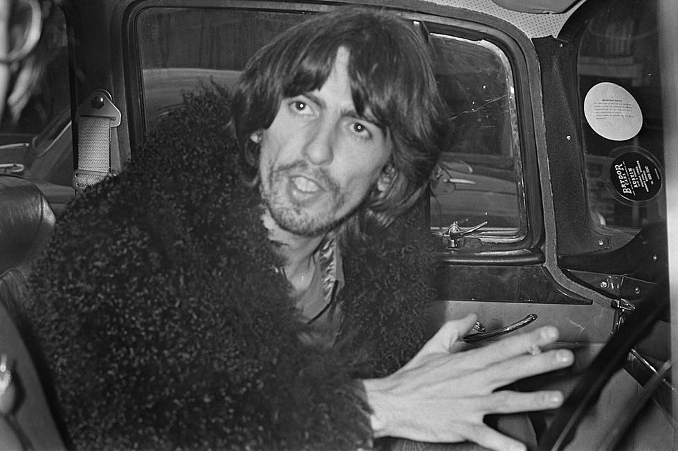 That time george harrison quit the beatles ccuart