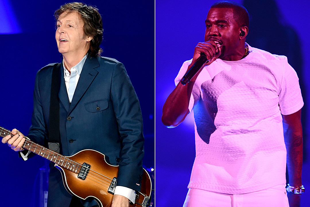 Paul McCartney Kanye West
