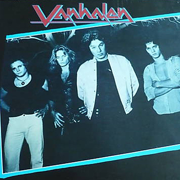 The first Van Halen album cover...that the band rejected.