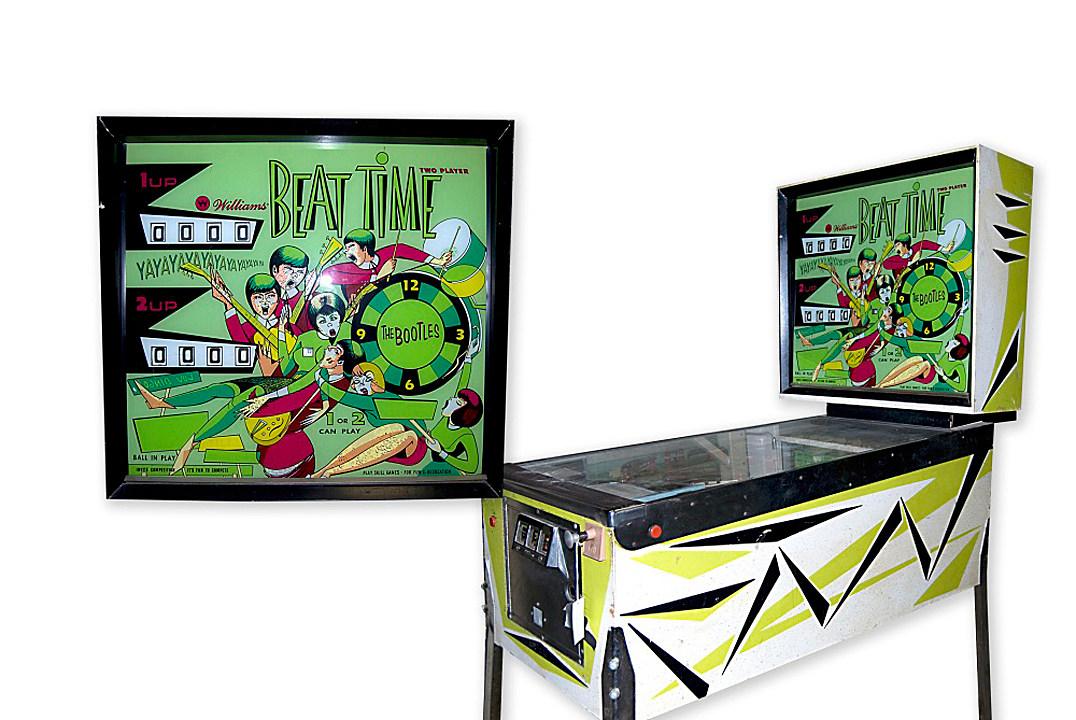 beatles pinball machine