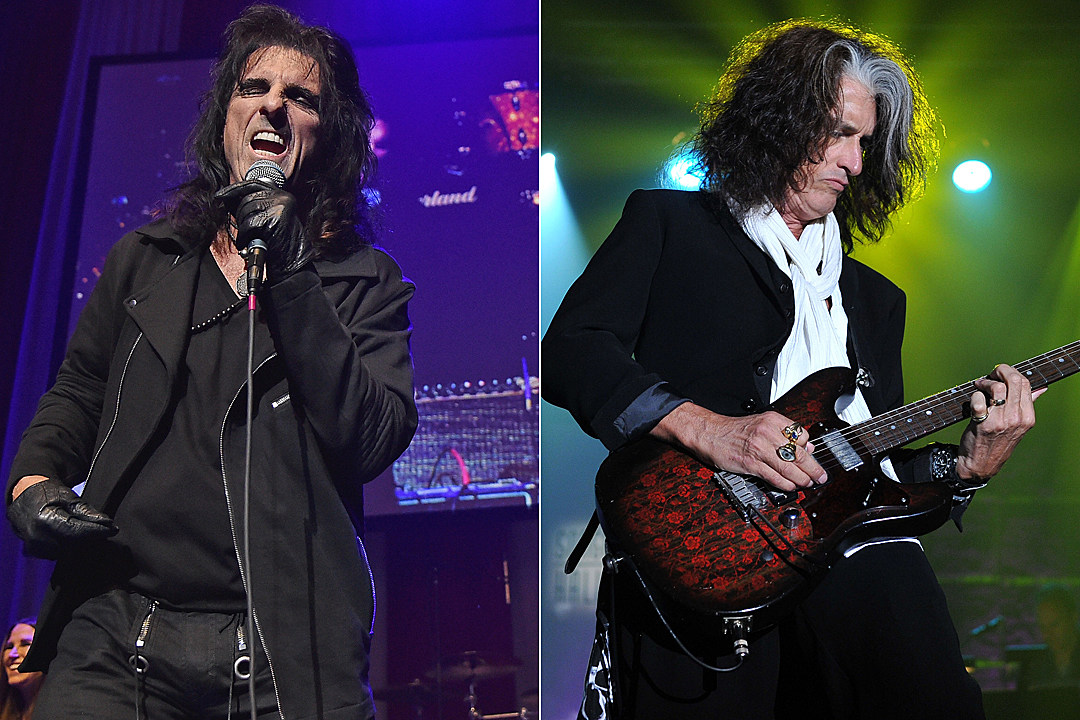 Alice Cooper Joe Perry