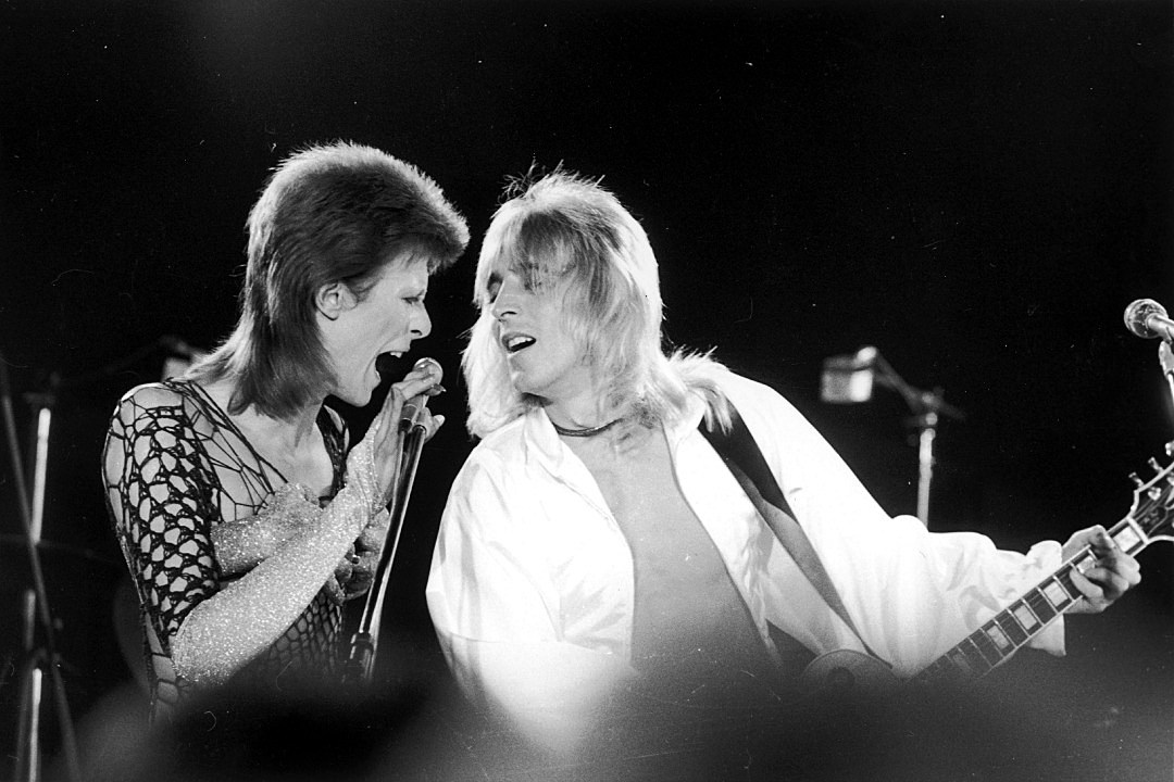 Lyric david bowie word on a wing lyrics : When Mick Ronson Played His First Show With David Bowie