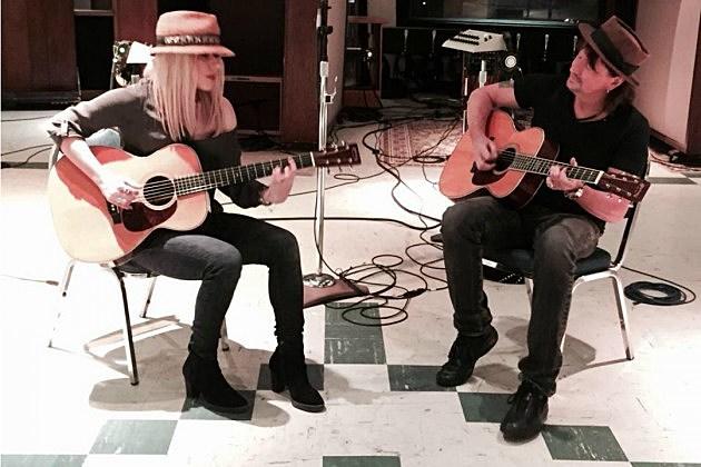 Richie Sambora Posts Photos From Studio Sessions With Orianthi