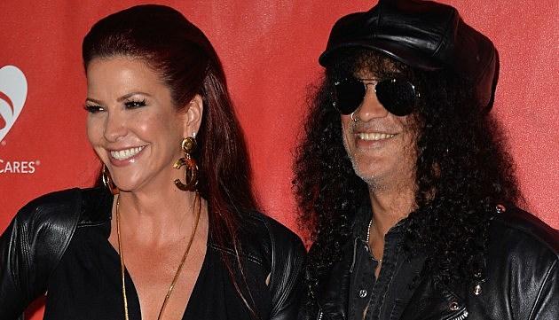 Slash's Wife Wants Half His Money in Divorce - Closer Weekly