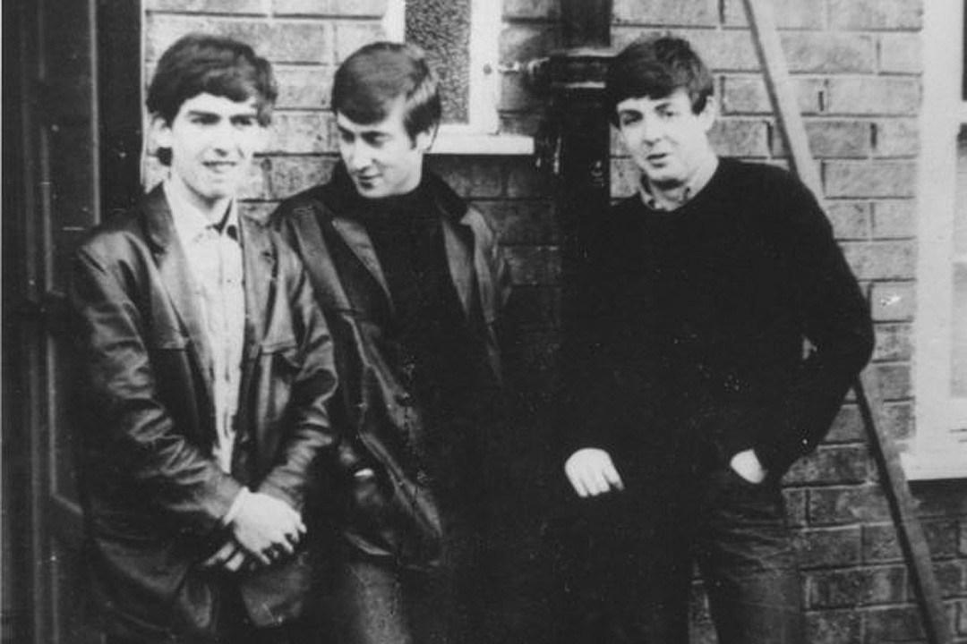 60 Years Ago George Harrison Joins John Lennon Paul McCartney