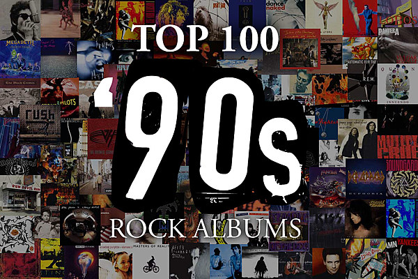 Top 100 39 90s rock albums for Classic house albums 90s