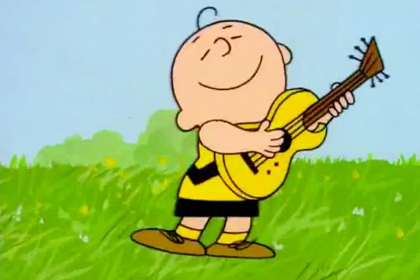 watch the peanuts gang sing some of classic rocks biggest