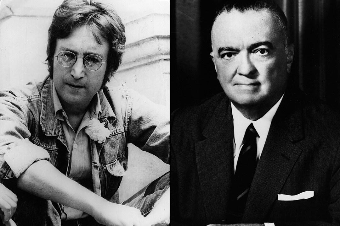 John Lennon J. Edgar Hoover