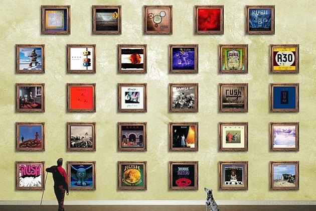 Rush celebrate 40 years of album artwork with new book - Rush album art ...