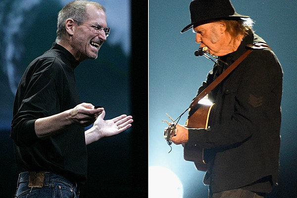 New Steve Jobs Bio Claims He Hated Neil Young