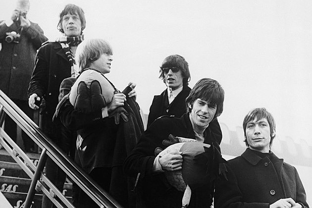 Rolling Stones Mick Jagger Brian Jones Bill Wyman Keith Richards Charlie Watts