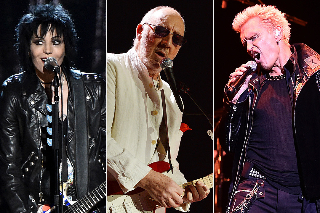 Joan Jett Pete Townshend Billy Idol