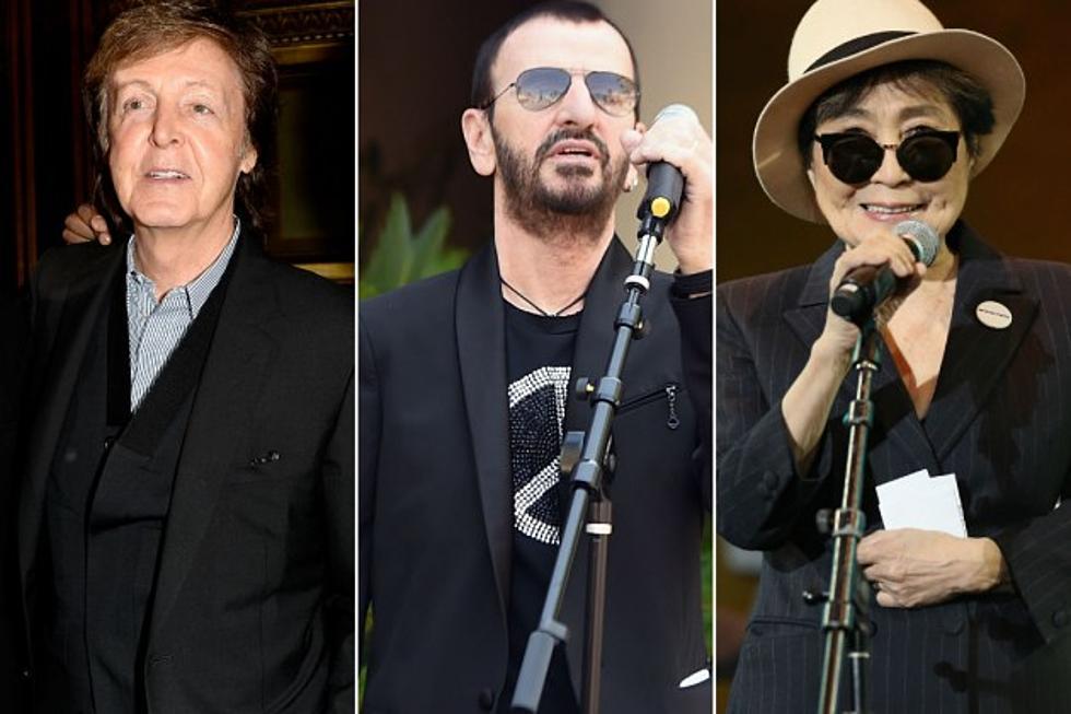 Paul McCartney Ringo Starr And Yoko Ono Pay Tribute To Cynthia Lennon