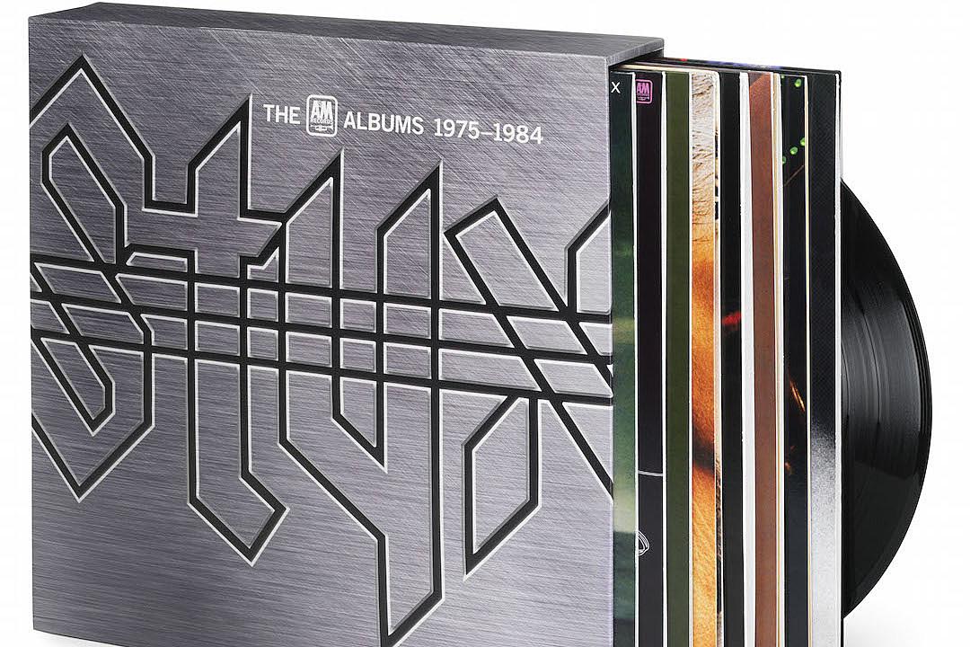 styx announces massive vinyl box set