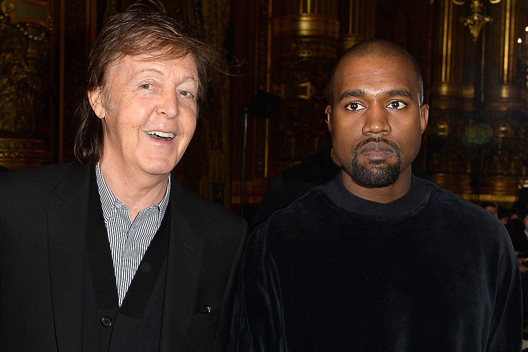 Paul McCartney and Kanye West