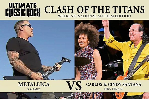 Clash of the Titans: Metallica's National Anthem vs ...