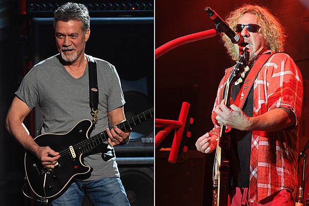 Eddie Van Halen Sammy Hagar
