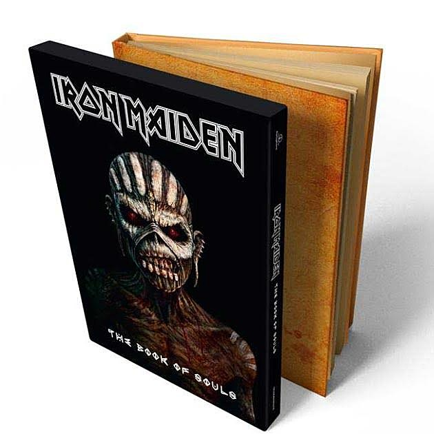 Iron Maiden - The Book of Souls [2015][320 Kbps][Mega]
